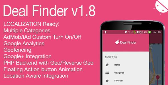 Deal Finder Full Android Application v1.8 Download