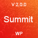 Summit -  Event And Conference WordPress Theme - ThemeForest Item for Sale