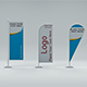 Flag stand pack - 3DOcean Item for Sale