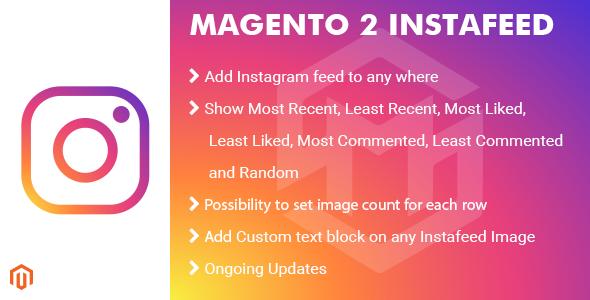 Magento 2 InstaFeed Extension