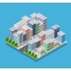 Isometric City Block - GraphicRiver Item for Sale