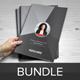 Resume Booklet Design Bundle - GraphicRiver Item for Sale