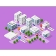 Isometric Set of the Modern City - GraphicRiver Item for Sale