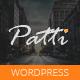 Patti - Parallax One Page WordPress Theme - ThemeForest Item for Sale