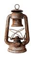 Old rusty kerosene lamp - PhotoDune Item for Sale
