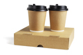 Coffee Cups on Pizza Box - PhotoDune Item for Sale