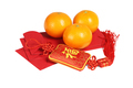 Chinese New Year Ornament and Mandarin Oranges - PhotoDune Item for Sale