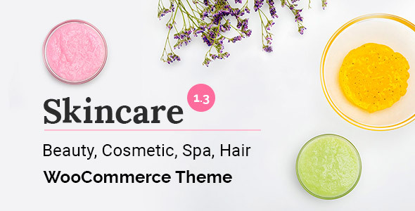 Skincare - Cosmetics WooCommerce WordPress Theme