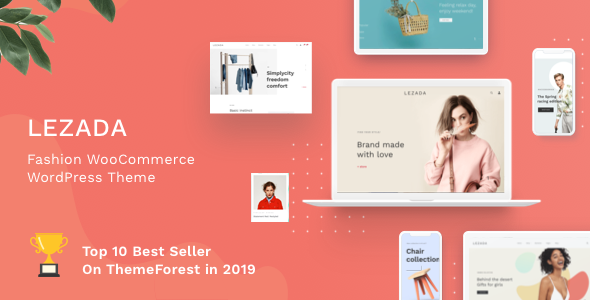 Lezada - Fashion WooCommerce WordPress Theme