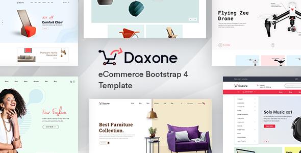eCommerce HTML Template - Daxone