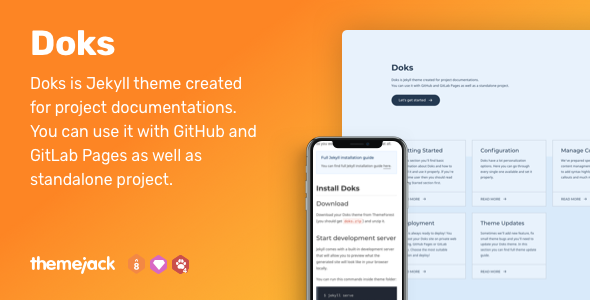 Jekyll Themes from ThemeForest