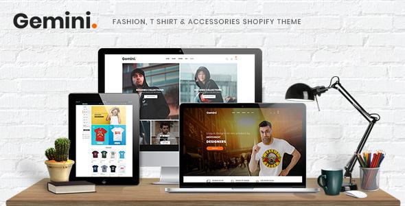 Gemini - Fashion Shopify Theme