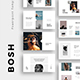 BOSH - Minimal Powerpoint Template - GraphicRiver Item for Sale