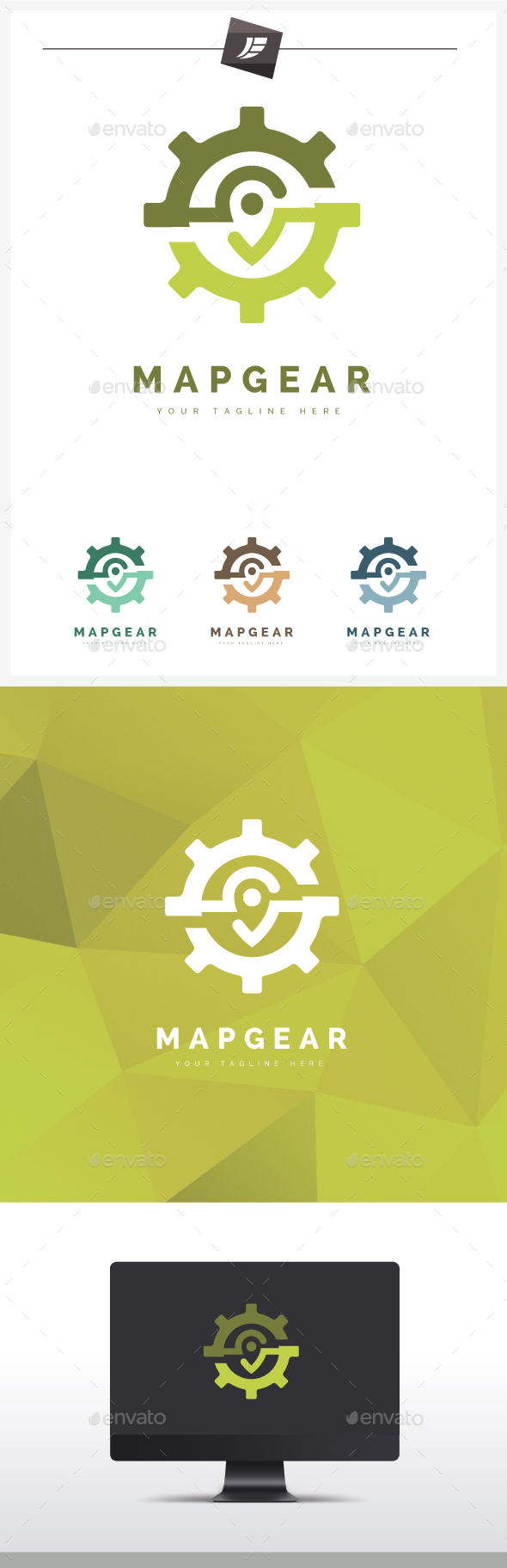 3D Logos from GraphicRiver