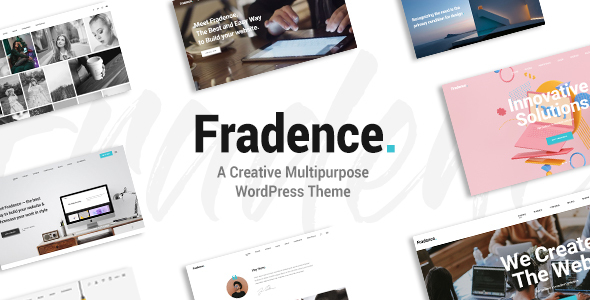 Fradence - A Creative Multipurpose WordPress Theme
