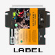 Label Design Template Bar Of Chocolate - GraphicRiver Item for Sale
