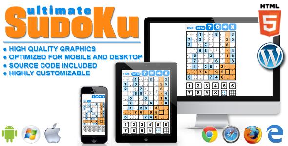 Ultimate Sudoku - gra HTML5