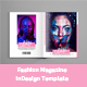 Fashion Magazine InDesign Template - GraphicRiver Item for Sale