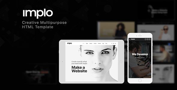 Implo - Responsive Multi-Purpose HTML5 Template
