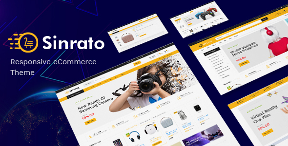 Sinrato - Electronics Theme for WooCommerce WordPress