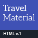 Travel Material - Resposnive HTML Template - ThemeForest Item for Sale
