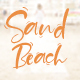 Sand Beach Script - GraphicRiver Item for Sale