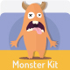 Monster Kit - GraphicRiver Item for Sale