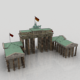 Brandenburg Gate 3D Model - 3DOcean Item for Sale