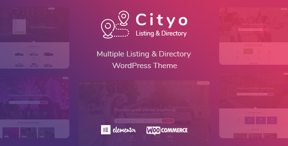 Cityo - Multiple Listing Directory WordPress Theme