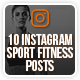 Instagram Sport Fitness Posts - GraphicRiver Item for Sale