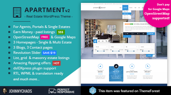 Apartment WP nulled plugin Archives - Crack Theme - Download