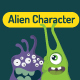 Alien character pack - GraphicRiver Item for Sale