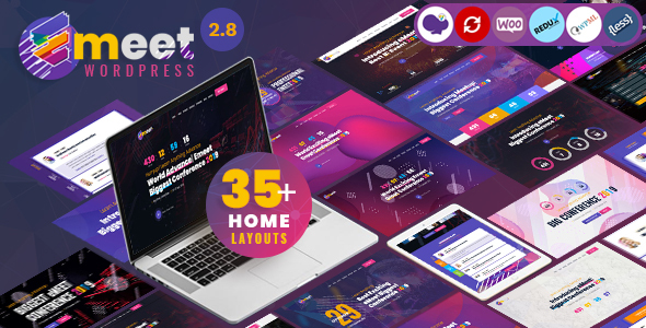 Event, Conference & Meetup WordPress Theme | Emeet