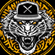 Tiger in Snapback Vector Art - GraphicRiver Item for Sale