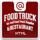 Food Truck & Restaurant 10 Styles - HTML5 Template - ThemeForest Item for Sale