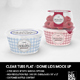 Clear Tubs Flat or Dome Lid Packaging Mockup - GraphicRiver Item for Sale