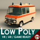 Low Poly Ambulance 01 - 3DOcean Item for Sale