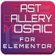 Fast Gallery Mosaic for Elementor WordPress Plugin - CodeCanyon Item for Sale