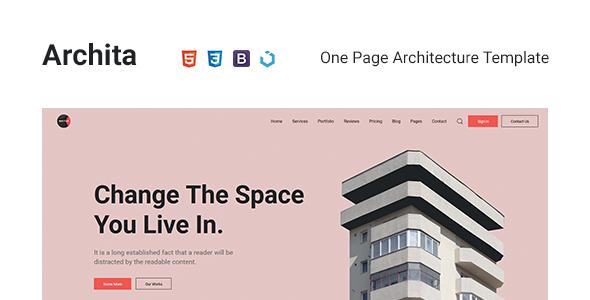 Archita — Architecture & Interior Design Template