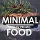 Tv Minimal Food Promo - VideoHive Item for Sale