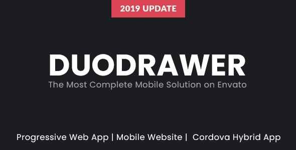 DuoDrawer Mobile Web App Kit