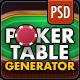 Vokr: Poker Table Builder - GraphicRiver Item for Sale