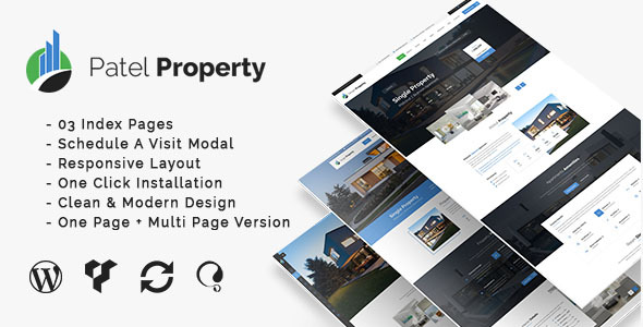 PatelProperty - Single Property Real Estate WordPress Theme