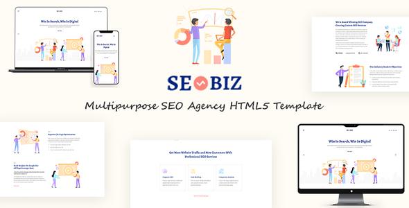 Seobiz | Multipurpose SEO HTML5 Template