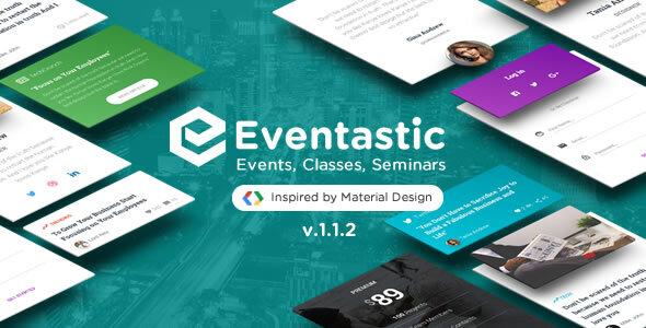 Eventastic - Multipurpose Theme for Events & Classes