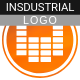 Epic Powerful & Aggressive Industrial Logo