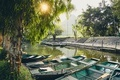 Waterfront with rowboats - PhotoDune Item for Sale