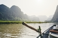 Rowboat against karst formation - PhotoDune Item for Sale