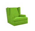 Green armchair isolated on white - PhotoDune Item for Sale
