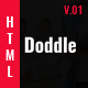Doddle - A Creative Digital Agency Responsive HTML5 Template - ThemeForest Item for Sale